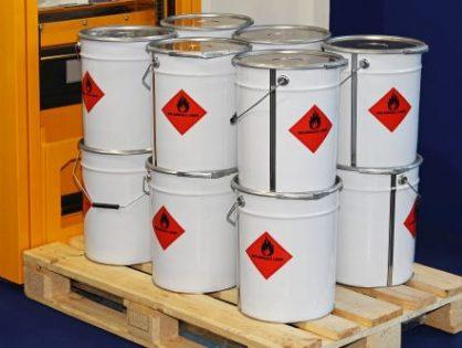 Etykiety na chemikalia