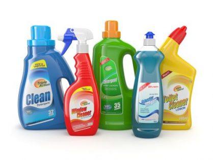Etykiety na środki chemiczne